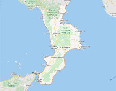 Cartina Calabria Mare.ᐅ Villaggi In Calabria Sul Mare